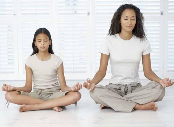 Moeder Dochter Yoga