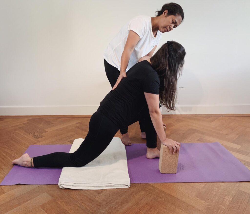 Yoga therapie gericht op jouw persoonlijke situatie en gezondheidsklachten.