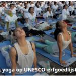 Yoga op UNESCO erfgoedlijst