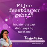 Tadasana Yoga lessen weer begonnen