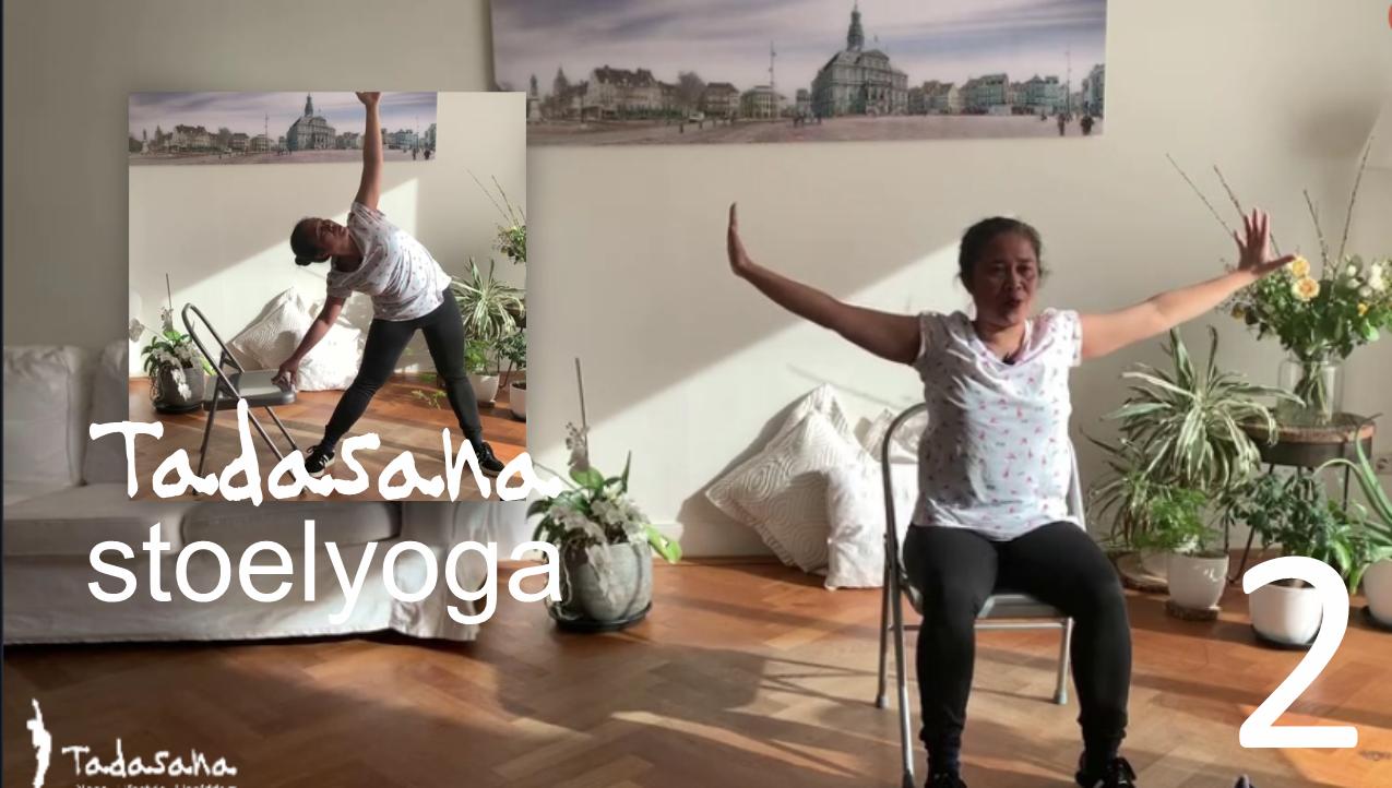 StoelYoga van Tadasana Online Yoga