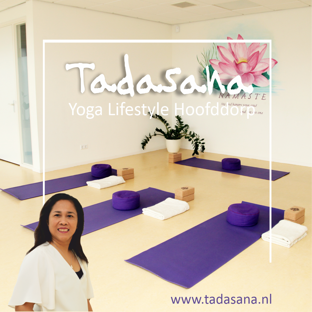 Tadasana start weer met yoga lessen